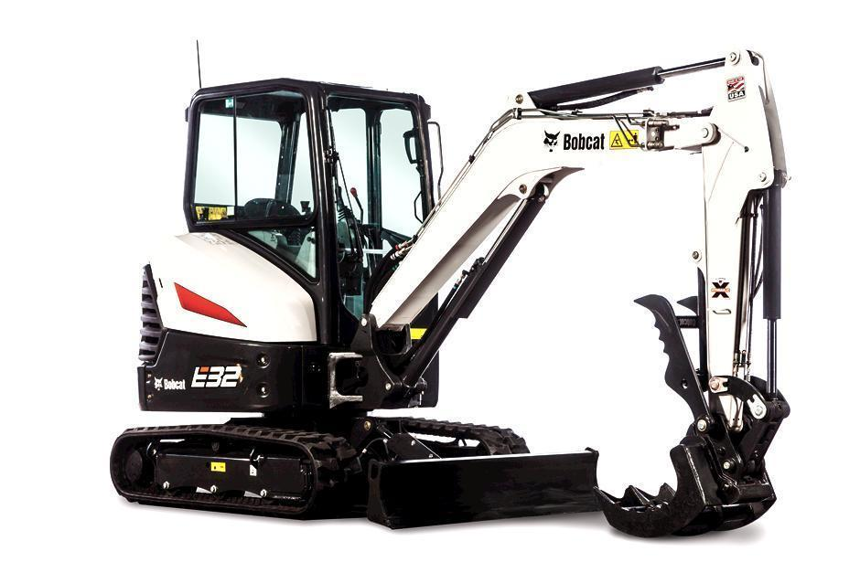 Used, 2019, Bobcat, E35 25 HP Standard, Excavators
